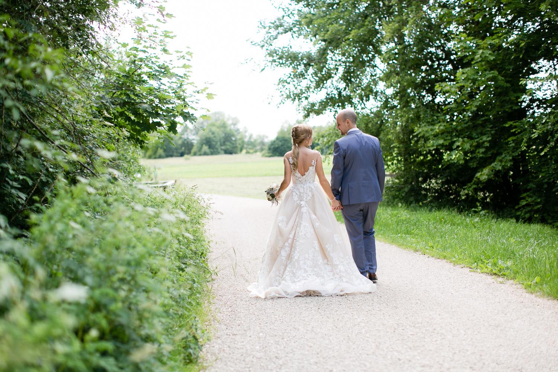 Natürliche Hochzeitsfotografie Augsburg