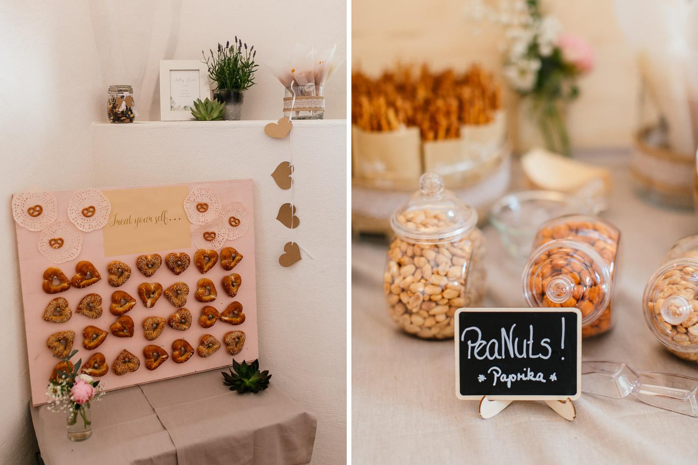 Hochzeitsideen salty bar
