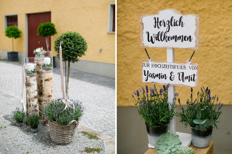Dekoration Hochzeit Augsburg