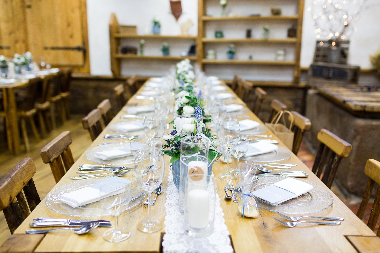 Hochzeitslocation mit Hüttenflair in Bayern