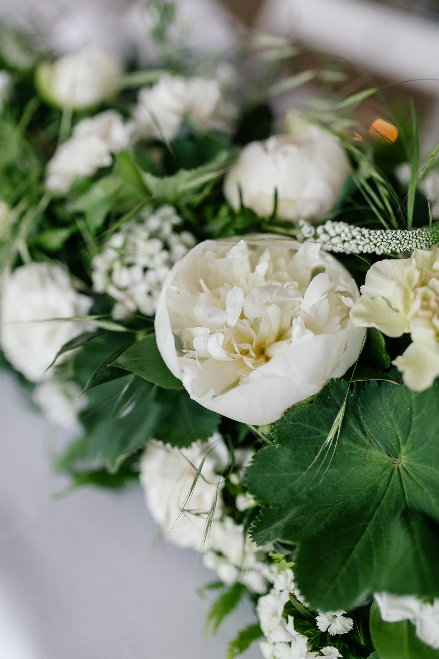 Greenery wedding flower