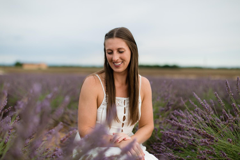 Provence Lavendelfeld Valensole