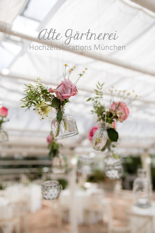 Alte Gärtnerei in München Hochzeitslocation