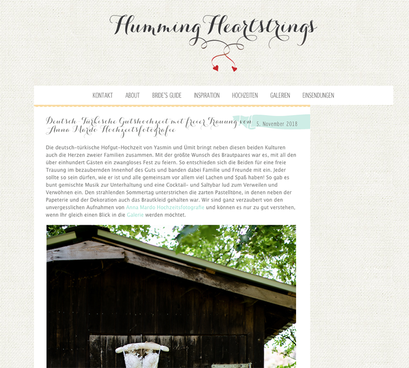 Feature bei Humming Heartstrings