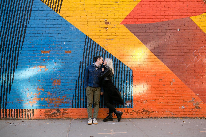 Couple Shoot Brooklyn New York