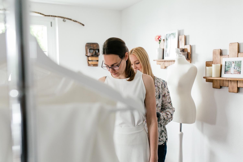 Moderne Brautmode aus München