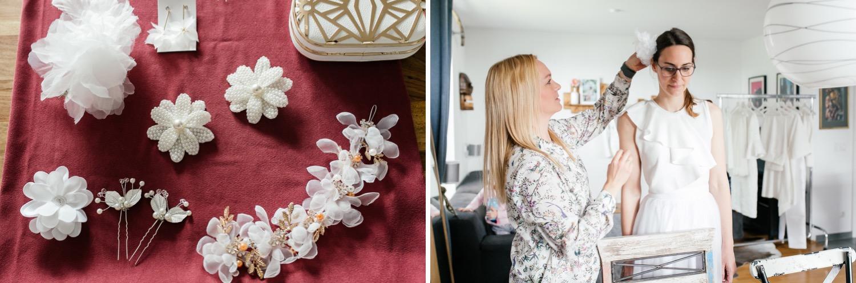 Accessoires Haarschmuck für die Hochzeit