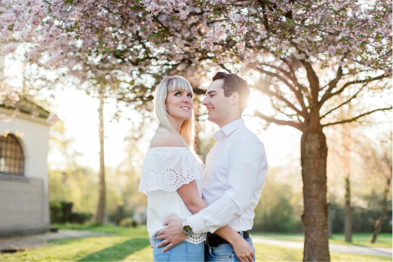 Verlobungsshooting vor der Hochzeit