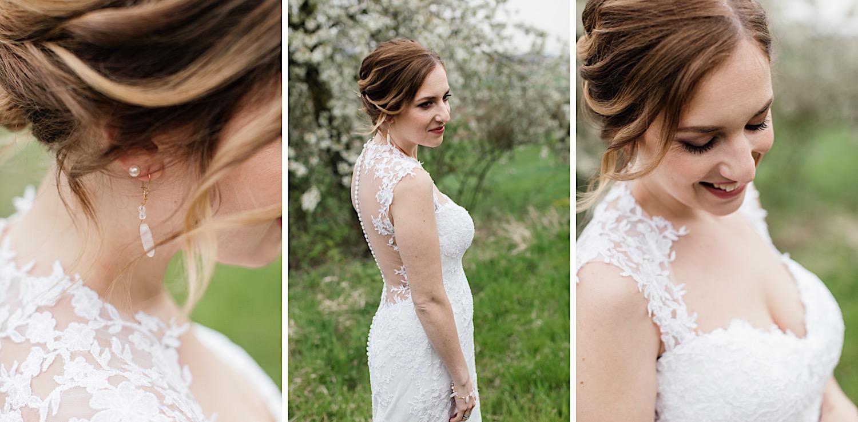 Hochzeitsfotograf aus Ulm - Hochzeitsshooting im Blütenmeer