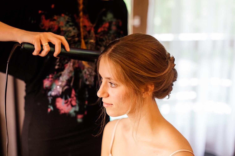 Getting Ready der Braut in Rosenheim