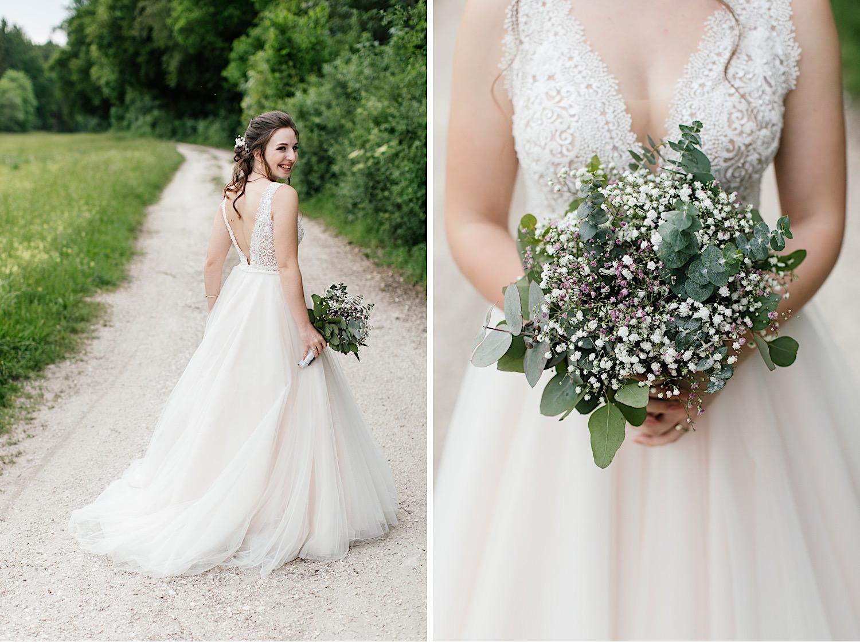 Braut Fotoshooting in Lauingen