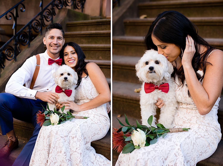 Hochzeitsfotografie mit Hund