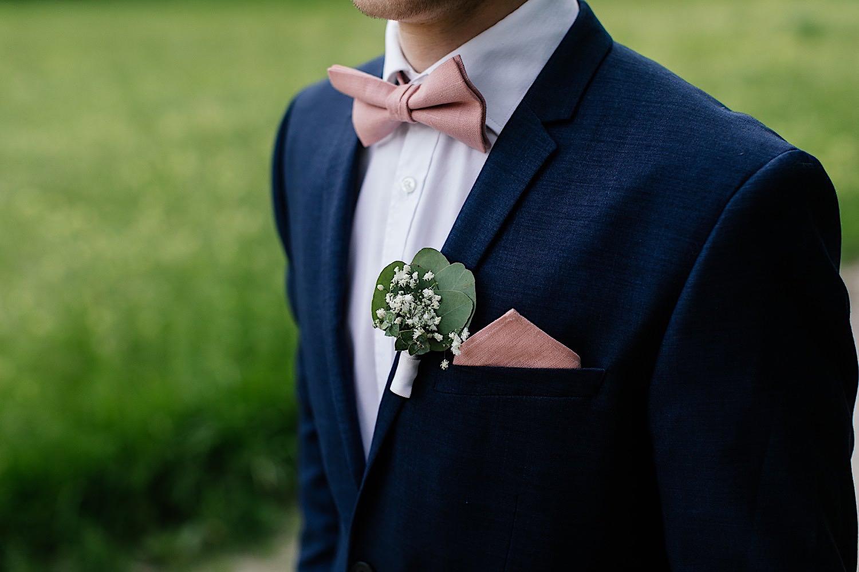 Hochzeitsanzug idee mit fliege und Einstecktuch