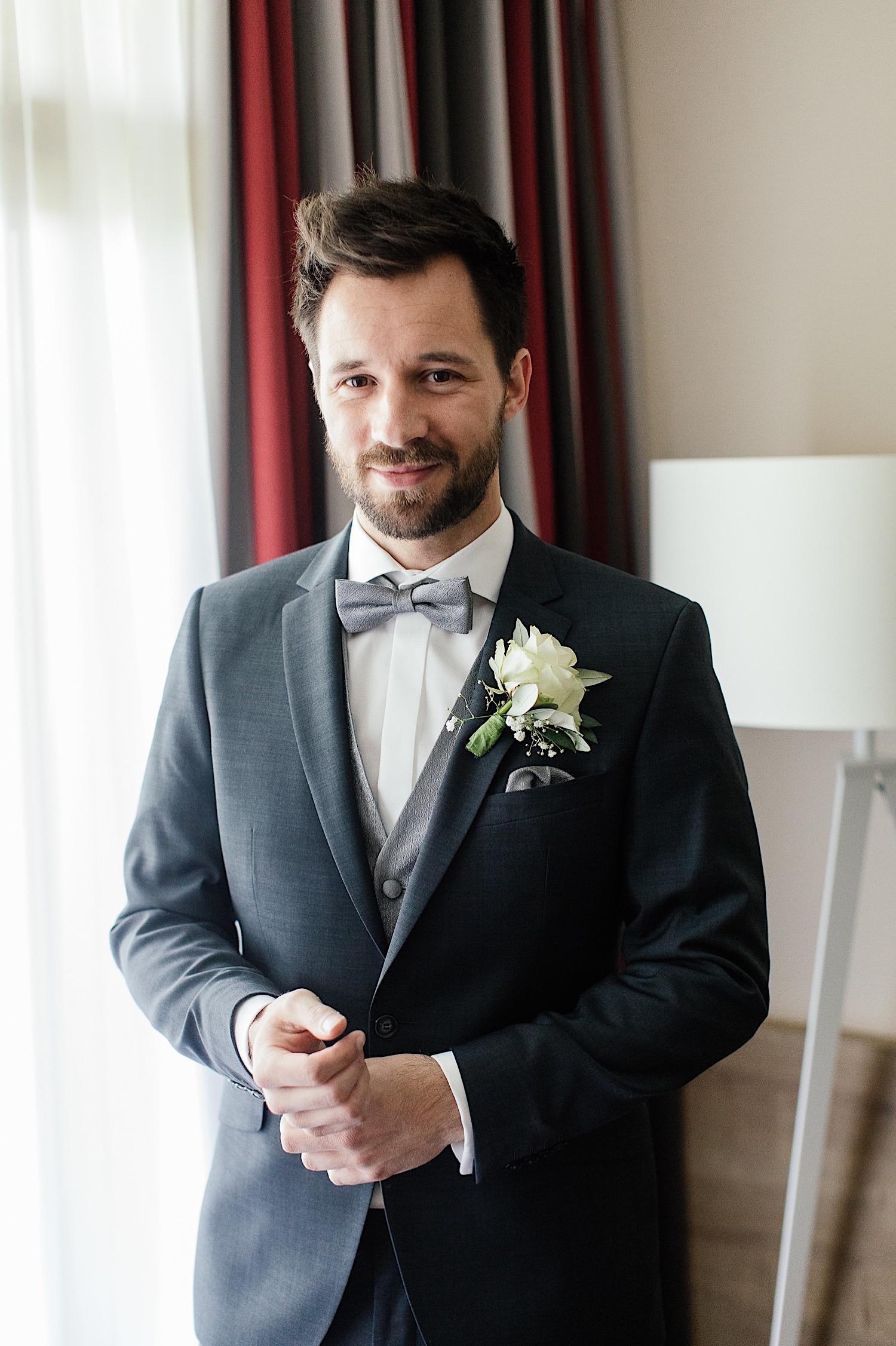 Bräutigam Hochzeitsfotograf Irschenberg