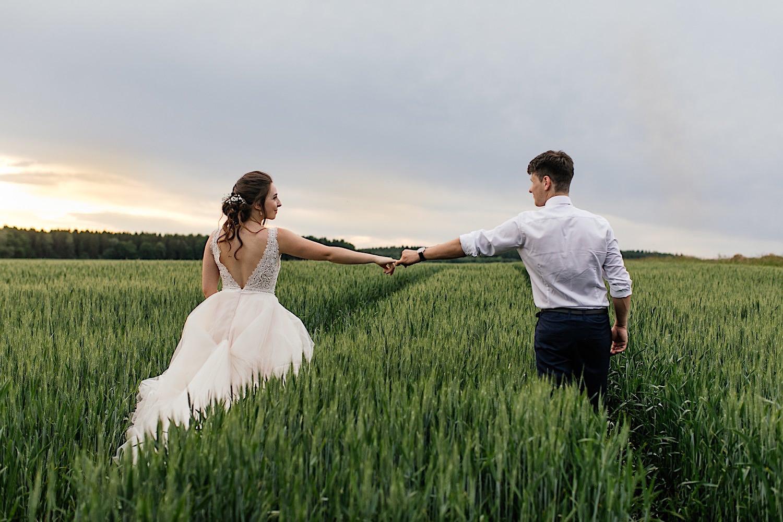 Fotoshooting zur Hochzeit in Wertingen