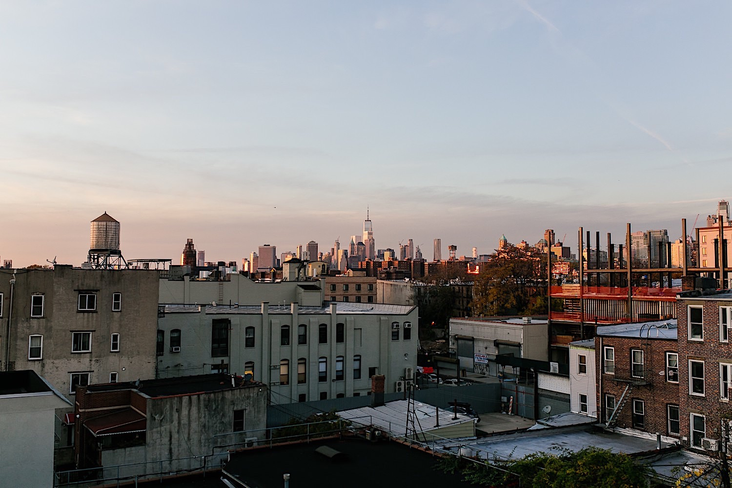Rooftop View in Brooklyn