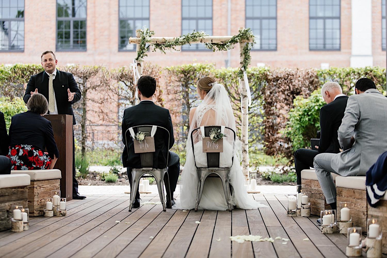 Hochzeit Alte Spinnerei Kolbermoor