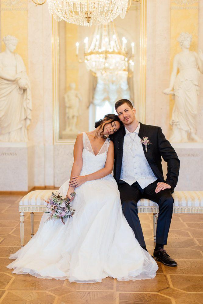 Albertina Wien Hochzeitsfotografie