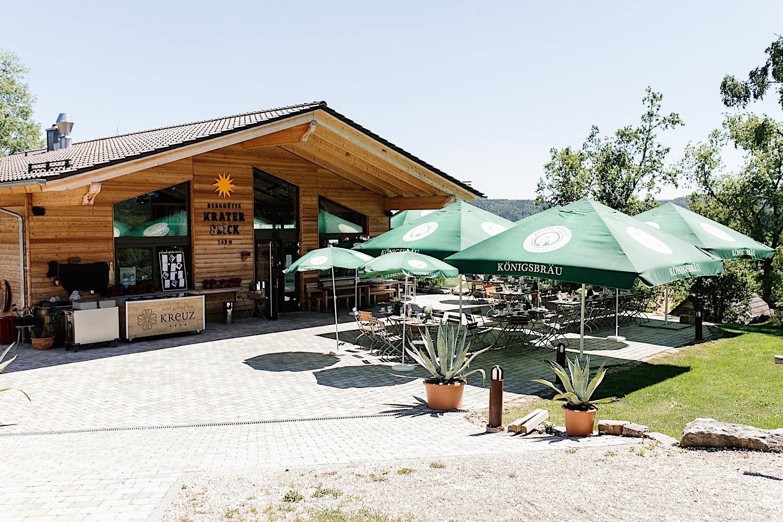 Kraterblick Steinheim - Hochzeit auf der Schwäbischen Alp