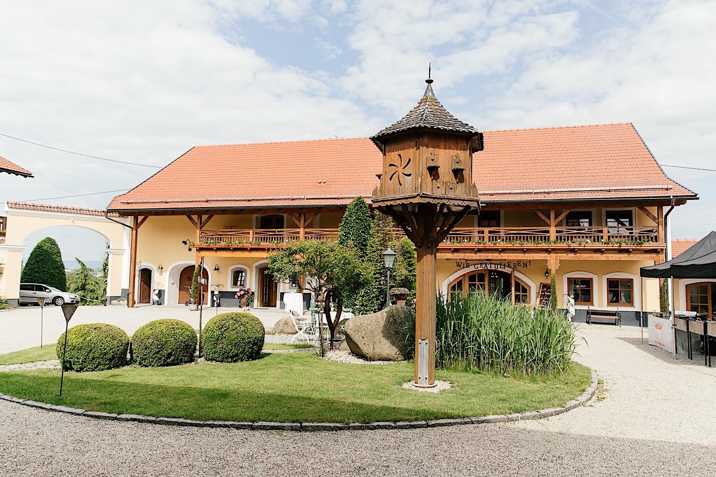 Hochzeit in Utzenaich in Österreich