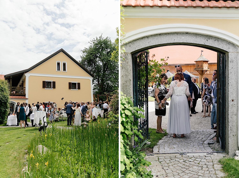 Vierkanfhof Hochzeit Österreich und Passau