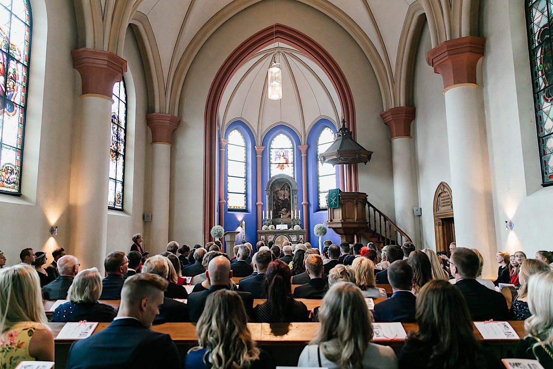Trauung in der Christuskirche am Tegernsee