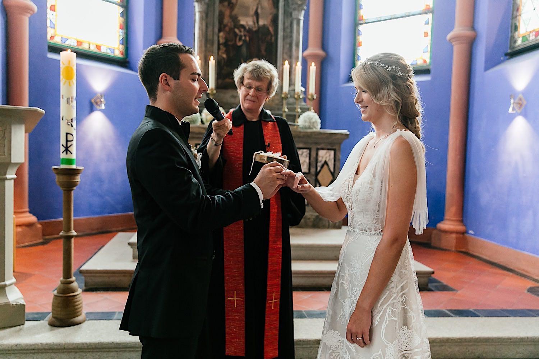 Hochzeitsfotografin Christuskirche Tegernsee