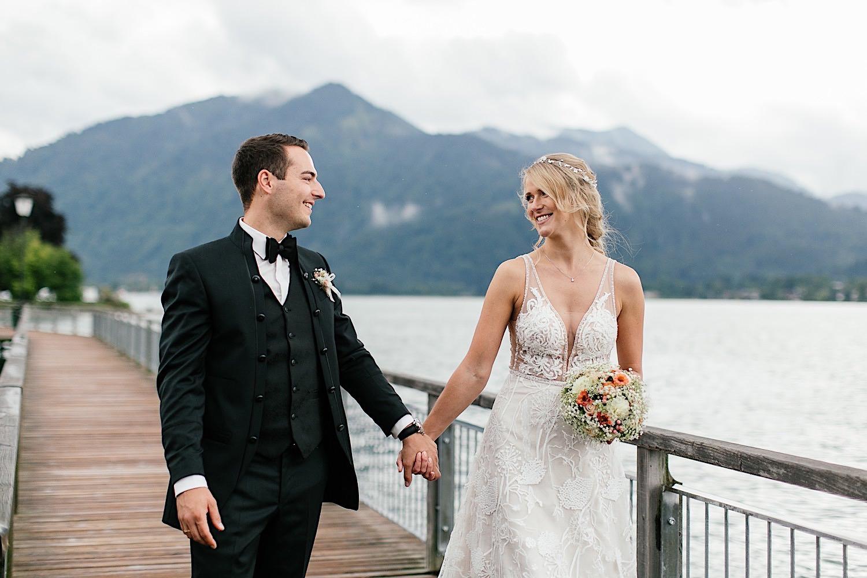 Hochzeitsfotografin Tegernsee Brautpaarshooting