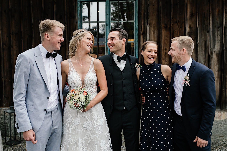 Gruppenbilder Hochzeit Miesbach