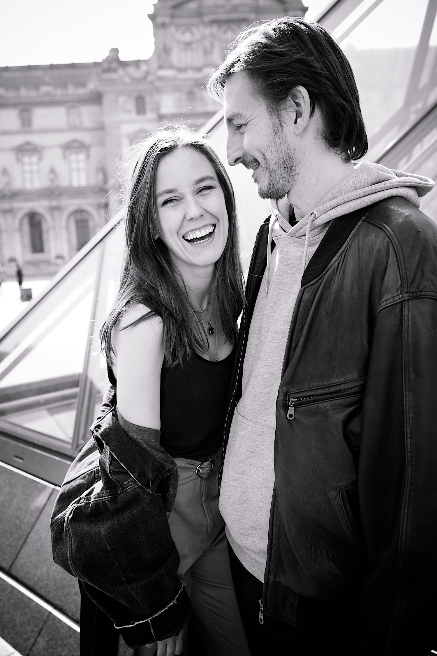 Pre Wedding Shooting am Louvre