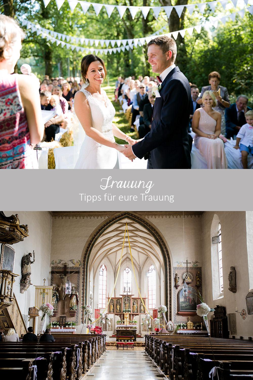 Hochzeit - Tipps für die Trauung