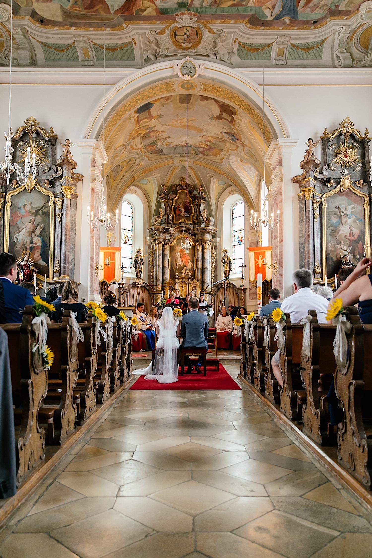Trauung in Mörslingen im Landkreis Dillingen