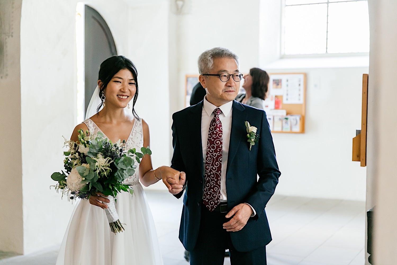 Deutsch koreanische Hochzeit