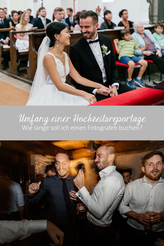 Wie viele Stunden soll ich eine Hochzeitsfotografen engagieren?