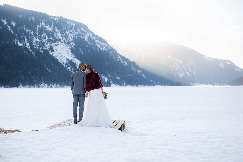 Corona Hochzeit - Winterhochzeit