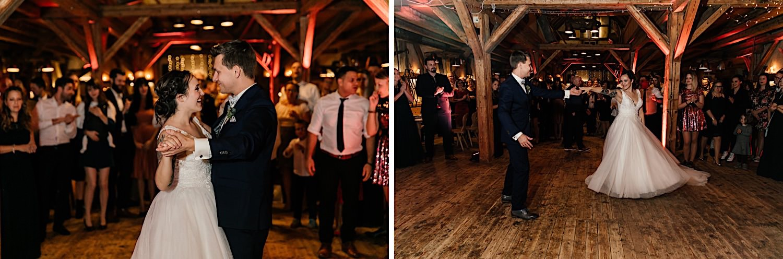 Hochzeit in der Lenderstuben in Balzhausen - Hochzeitstanz modern