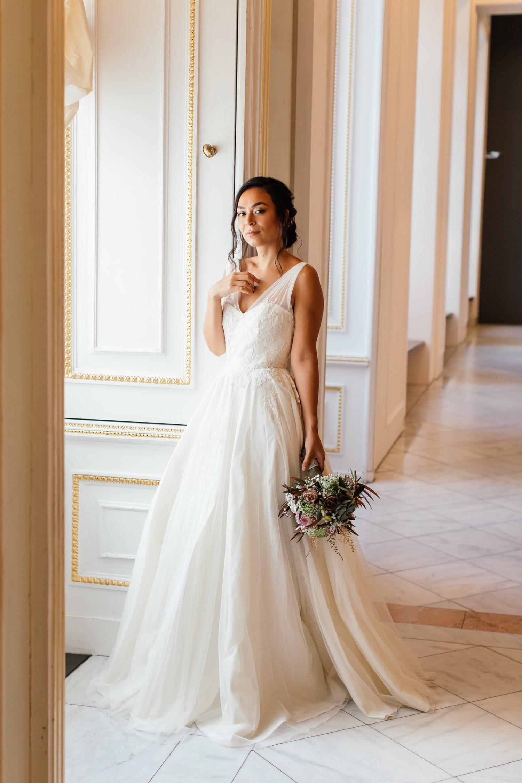 Hochzeitsfotografie Albertina in Wien