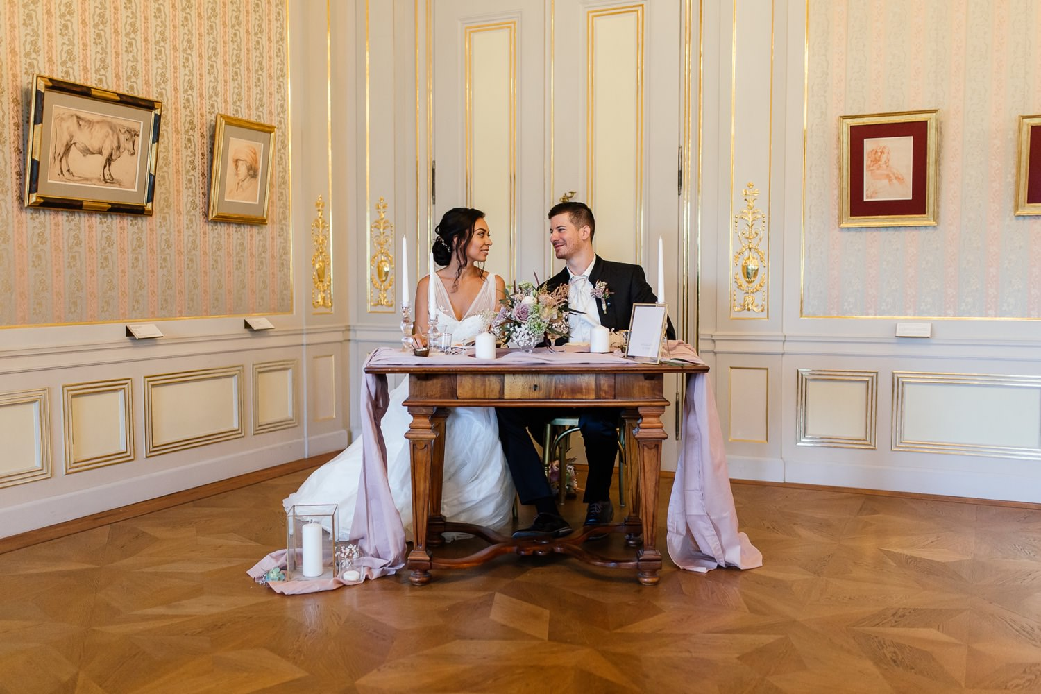 Heiraten in der Albertina in Wien