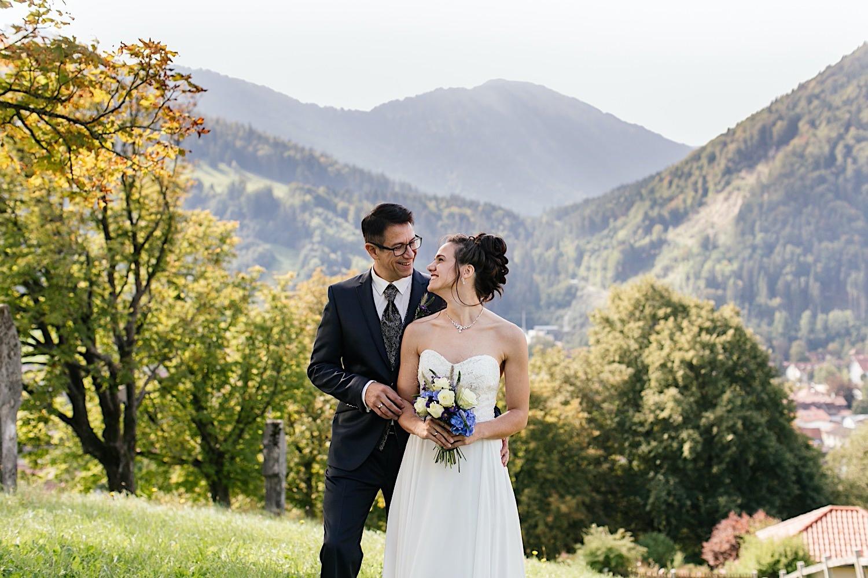 Heiraten in den Bergen in Immenstadt