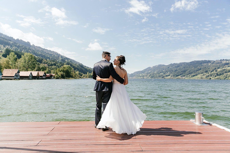 Hochzeitsfotografie in Immenstadt im Allgäu am Alpsee