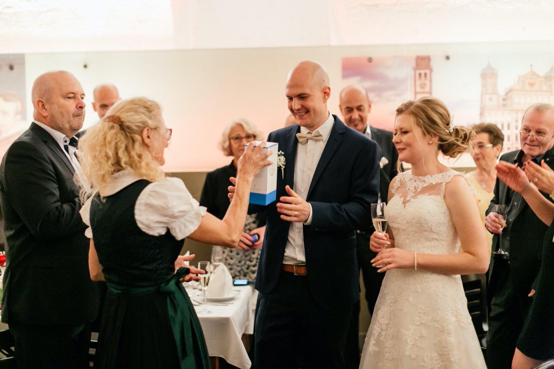 Hochzeitsfeier im Ratskeller