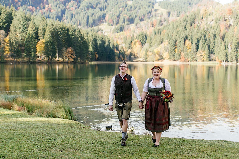Heiraten in den Bergen am Spitzingsee