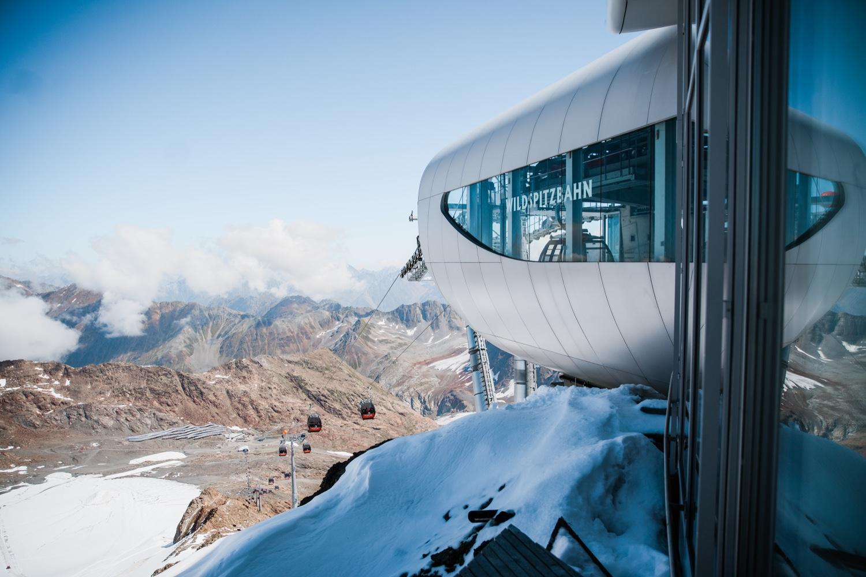 Wildspitzbahn auf dem Pitztaler Gletscher