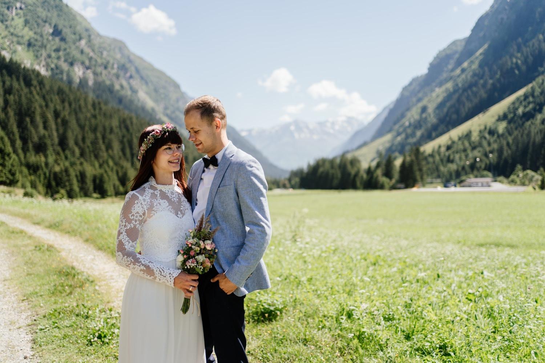 Hochzeitsfotografie im Pitztal