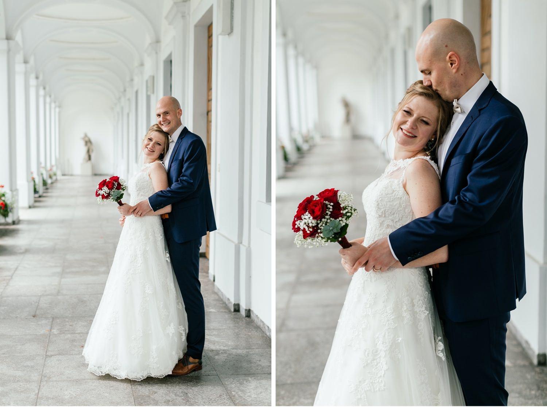 Fotoshooting an der Hochzeit in Augsburg
