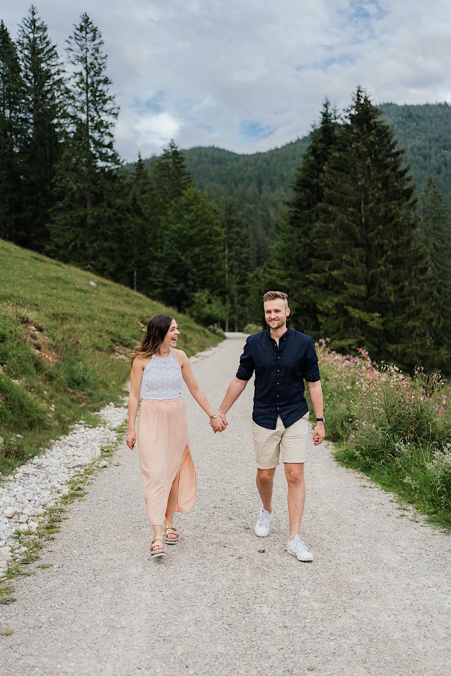 Tipps für das Paarshooting in den Bergen