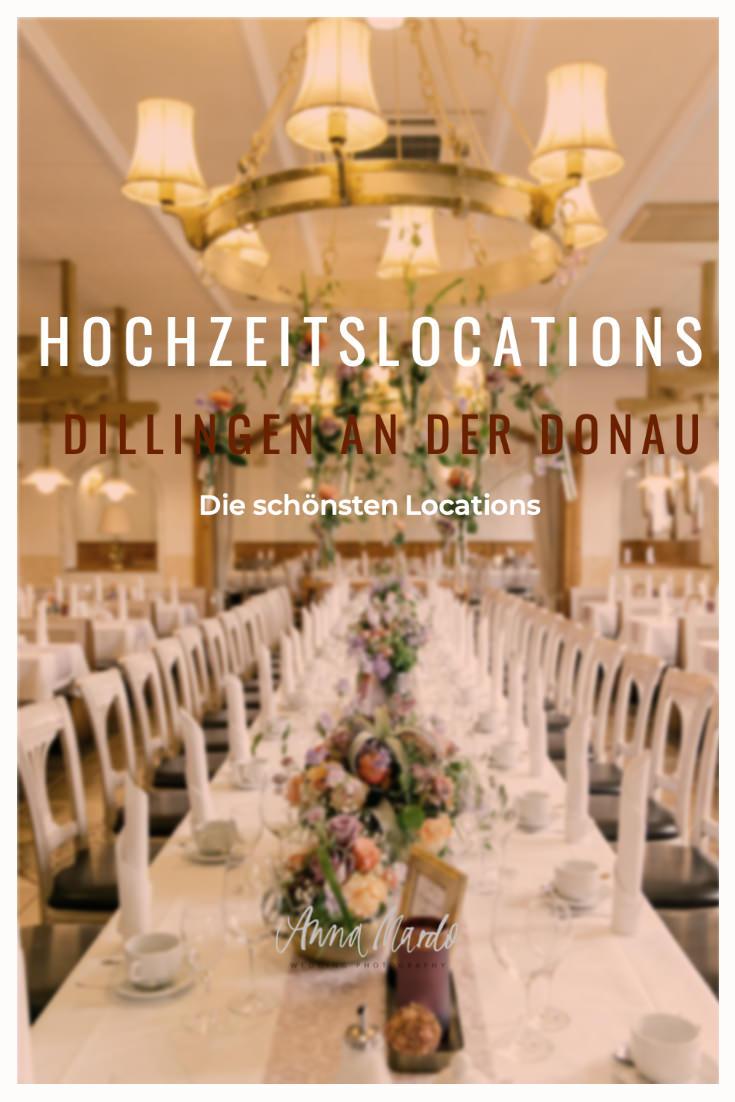 Hochzeitslocations in Dillingen an der Donau