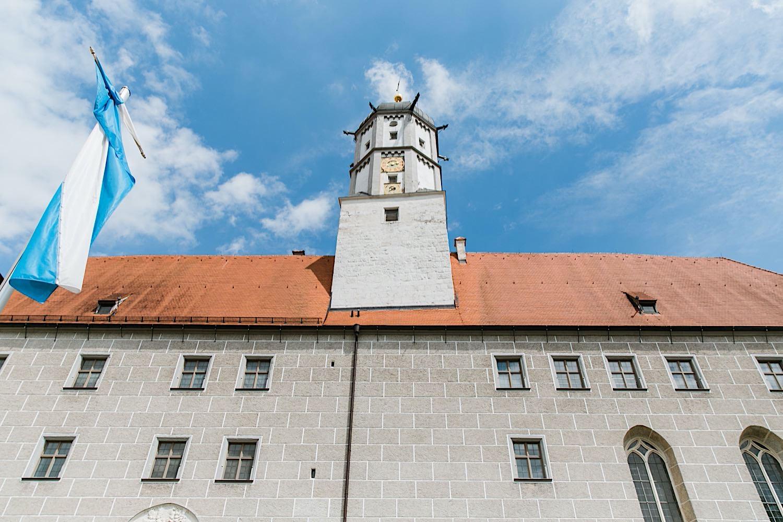 Hochzeit im Schoss Höchstädt an der Donau
