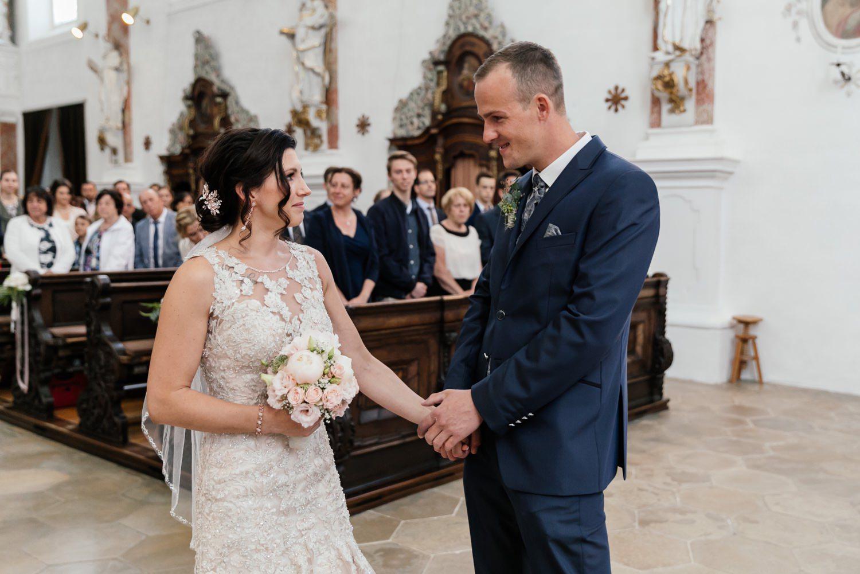 Hochzeitsreportage in Finningen im Landkreis Dillingen