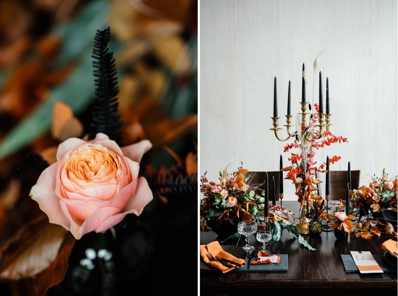 Hochzeit in Herbsttönen
